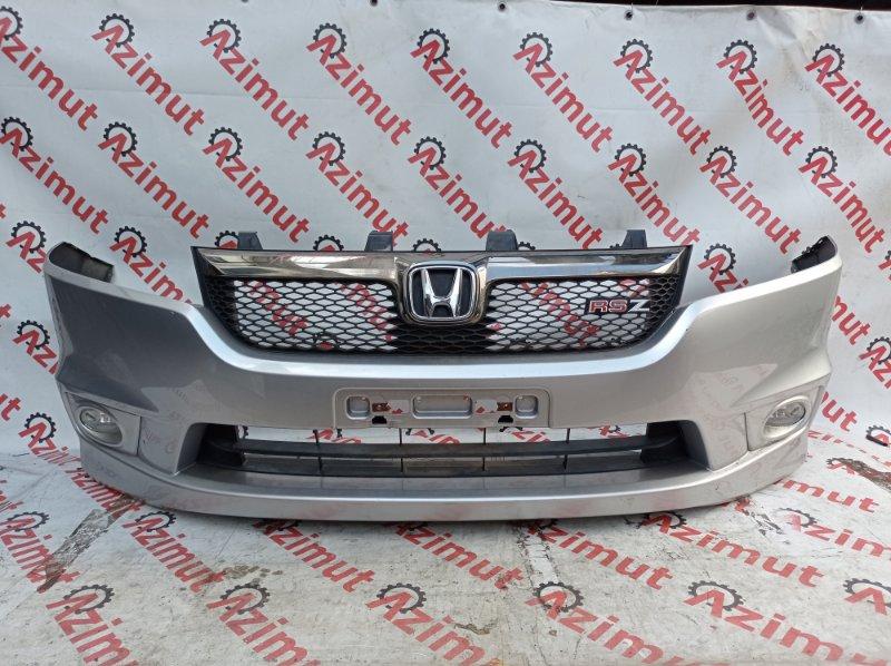 Бампер Honda Stream RN9 R20A 2006 передний (б/у)