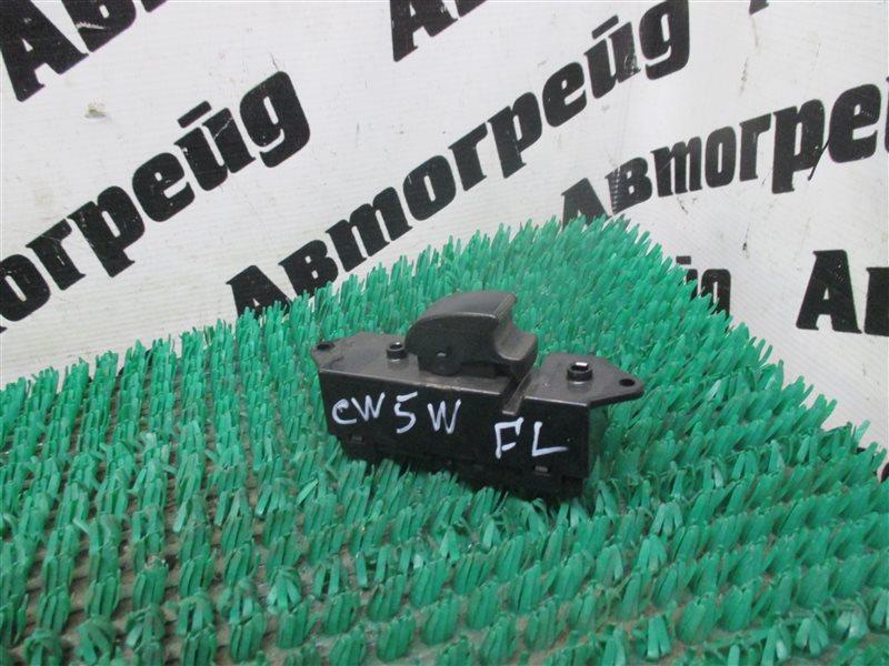 Кнопка стеклоподъемника Mitsubishi Outlander CW5W 4B12 передняя левая