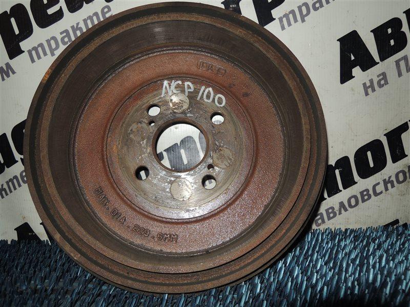 Барабан тормозной Toyota Ractis NCP100 задний