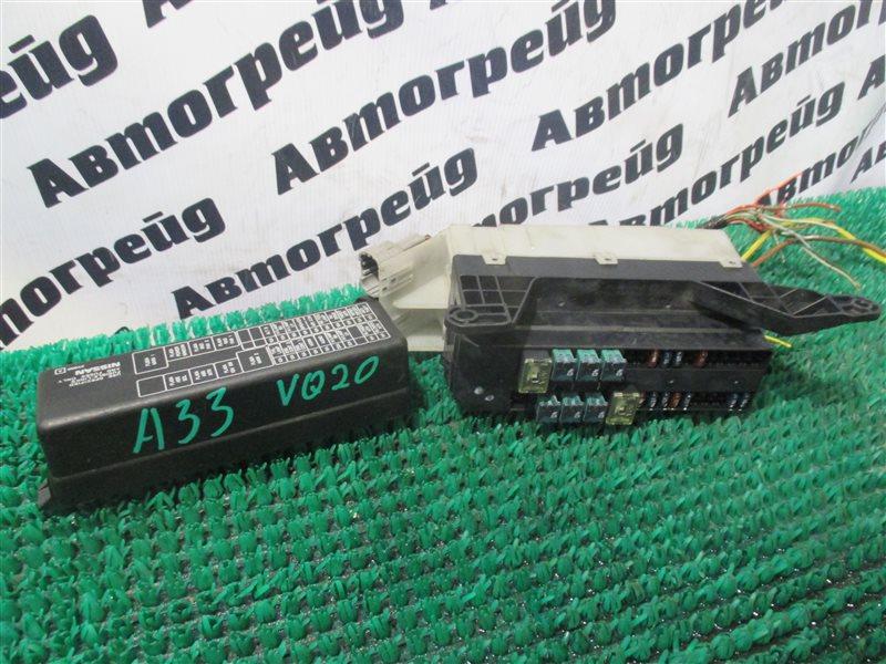 Блок предохранителей под капот Nissan Cefiro A33 VQ20-DE