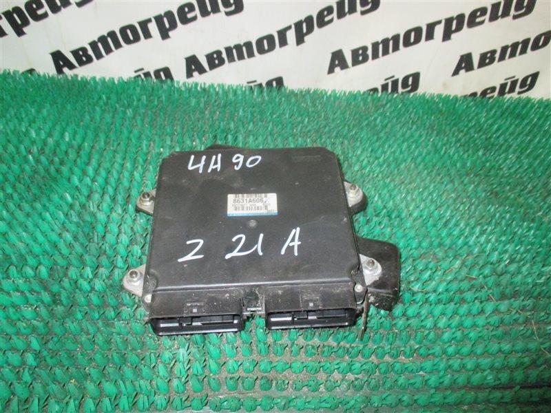 Блок управления двс Mitsubishi Colt Z21A 4A90 2010