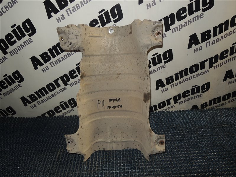 Тепловая защита глушителя Nissan Primera WHP11 SR20 09.2000