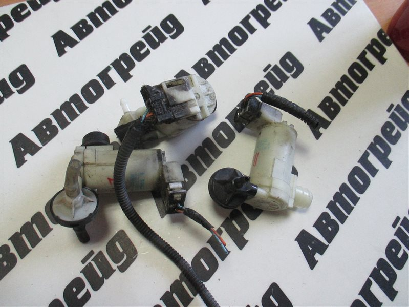 Мотор бачка омывателя Nissan March AK12