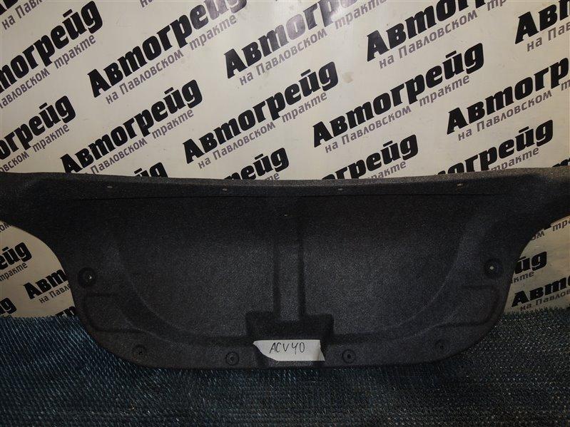 Обшивка крышки багажника Toyota Camry ACV40 2AZ 2008