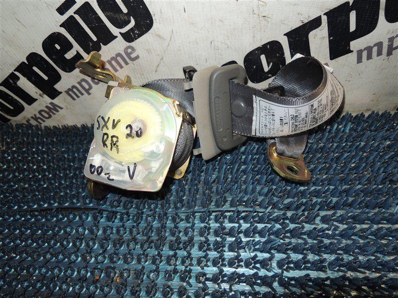Ремень безопасности Toyota Camry Gracia SXV20 5S 2000. 11 задний правый