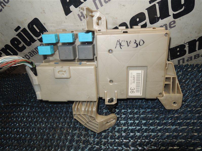 Блок предохранителей салонный Toyota Camry ACV30 2AZ-FE 2004.09