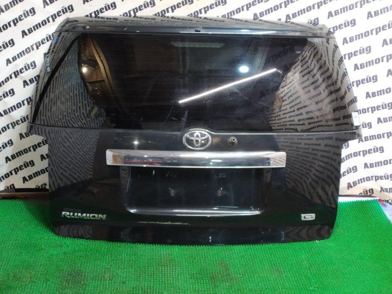 Дверь багажника Toyota Corolla Rumion NZE151