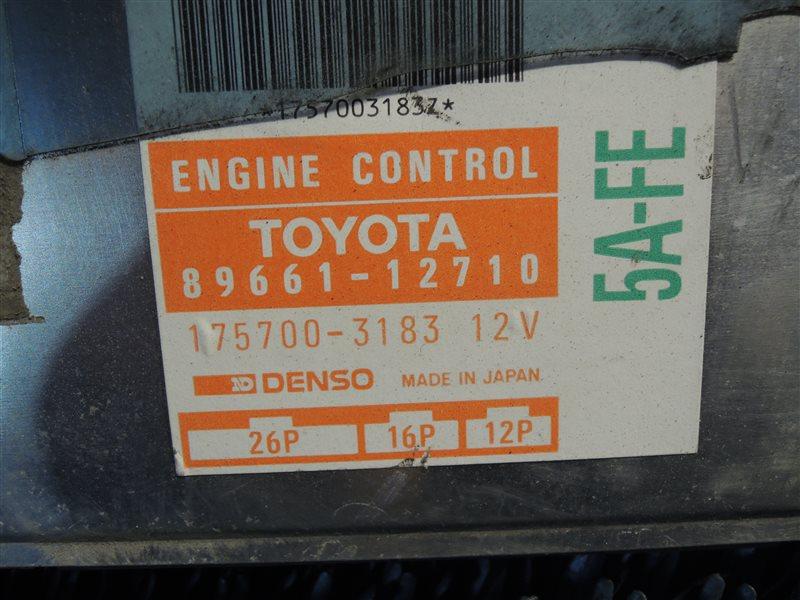Блок управления двс Toyota Corolla Ceres AE100 5A-FE 1992