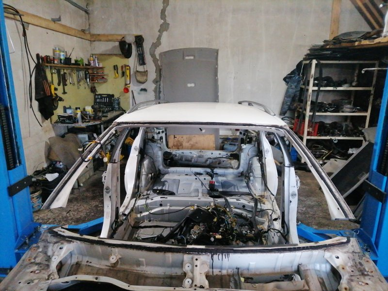 Крыша Toyota Mark Ii Qualis SXV20 5S-FE 2001.05