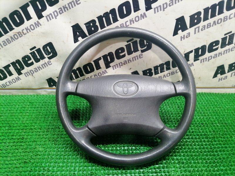 Руль с подушкой безопастности Toyota Corolla NZE121 1NZ-FE 2000.12