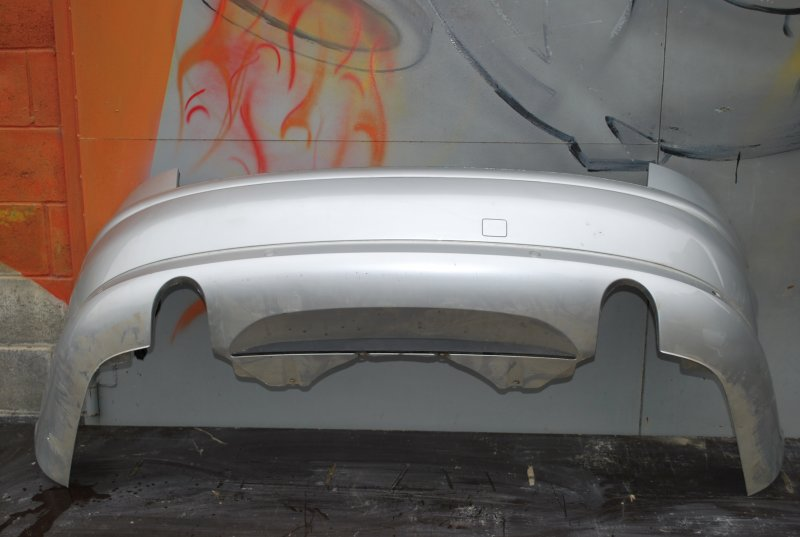 Бампер Audi A8 4E BFM 2004 задний (б/у)