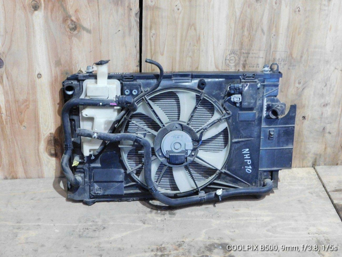 Радиатор основной Toyota Aqua NHP10 1NZFXE (б/у)