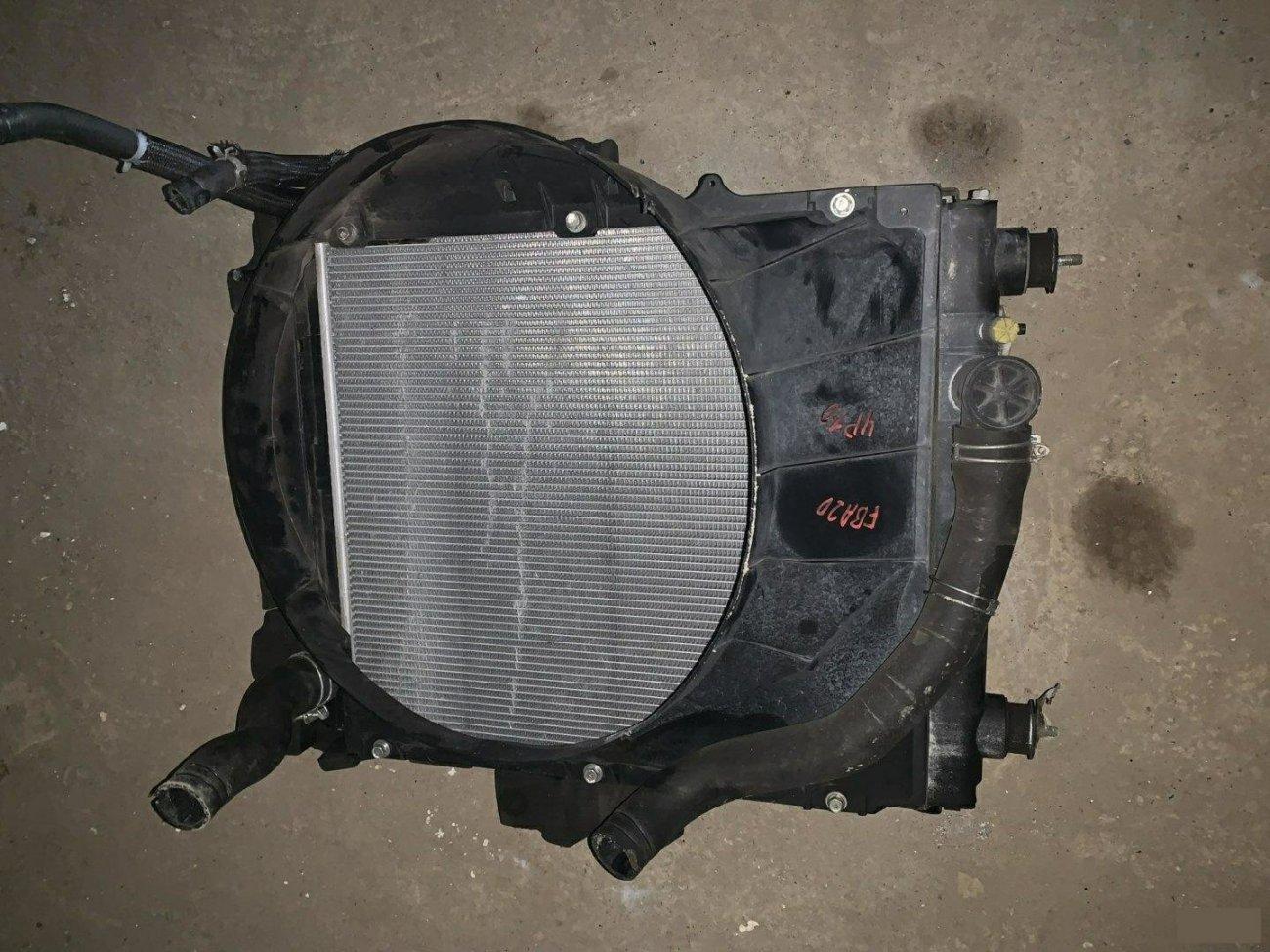 Радиатор основной Mitsubishi Canter FBA20 4P10 (б/у)