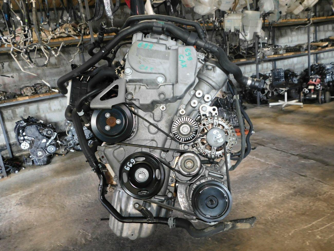 Двигатель Volkswagen Golf 6 5K1 CAX (б/у)