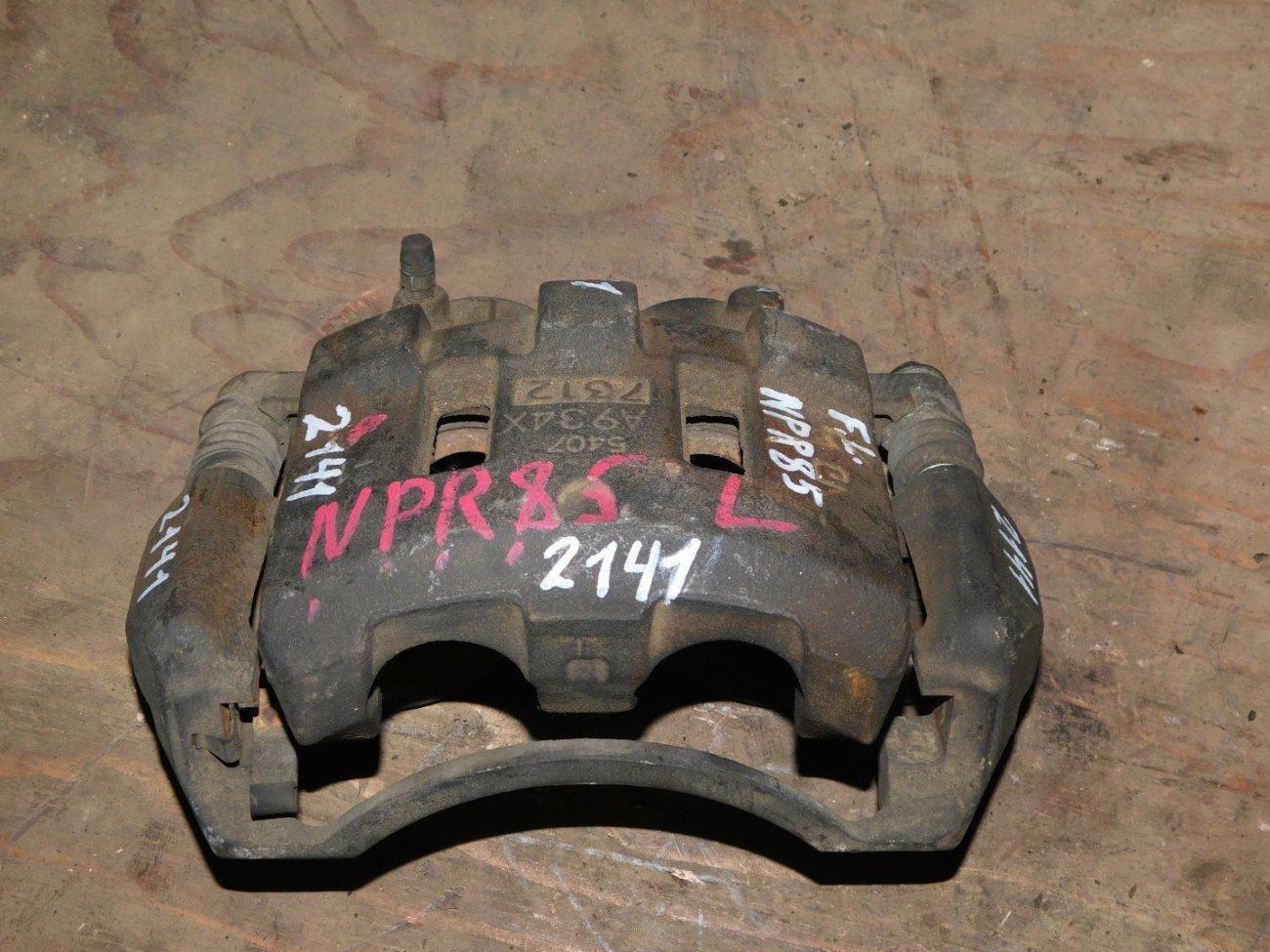 Суппорт Isuzu Elf NPR85 4JJ1 передний левый (б/у)