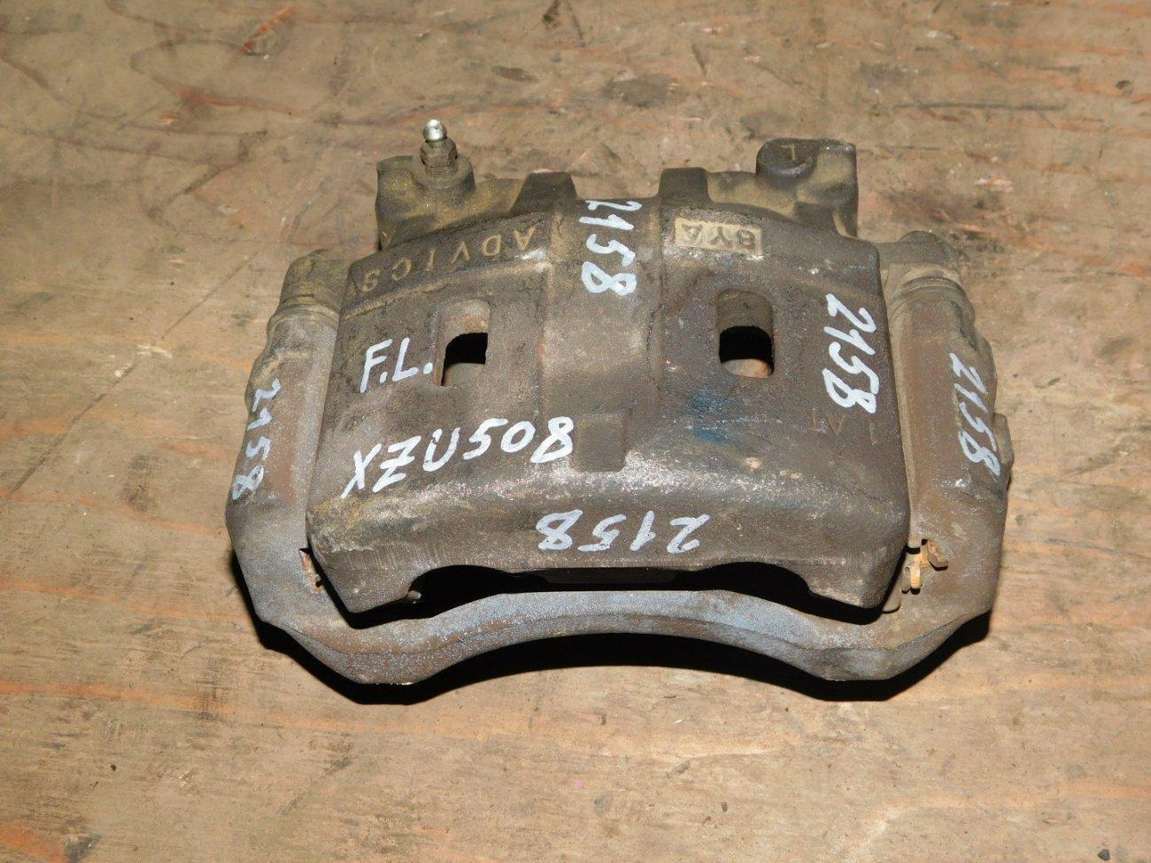 Суппорт Toyota Dyna XZU508 N04CT передний левый (б/у)