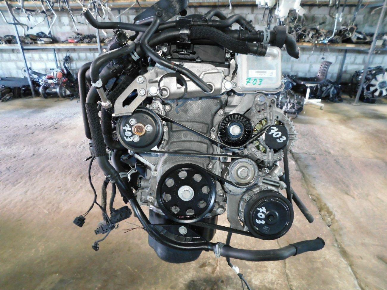 Двигатель Volkswagen Polo 5K1 CBZ (б/у)