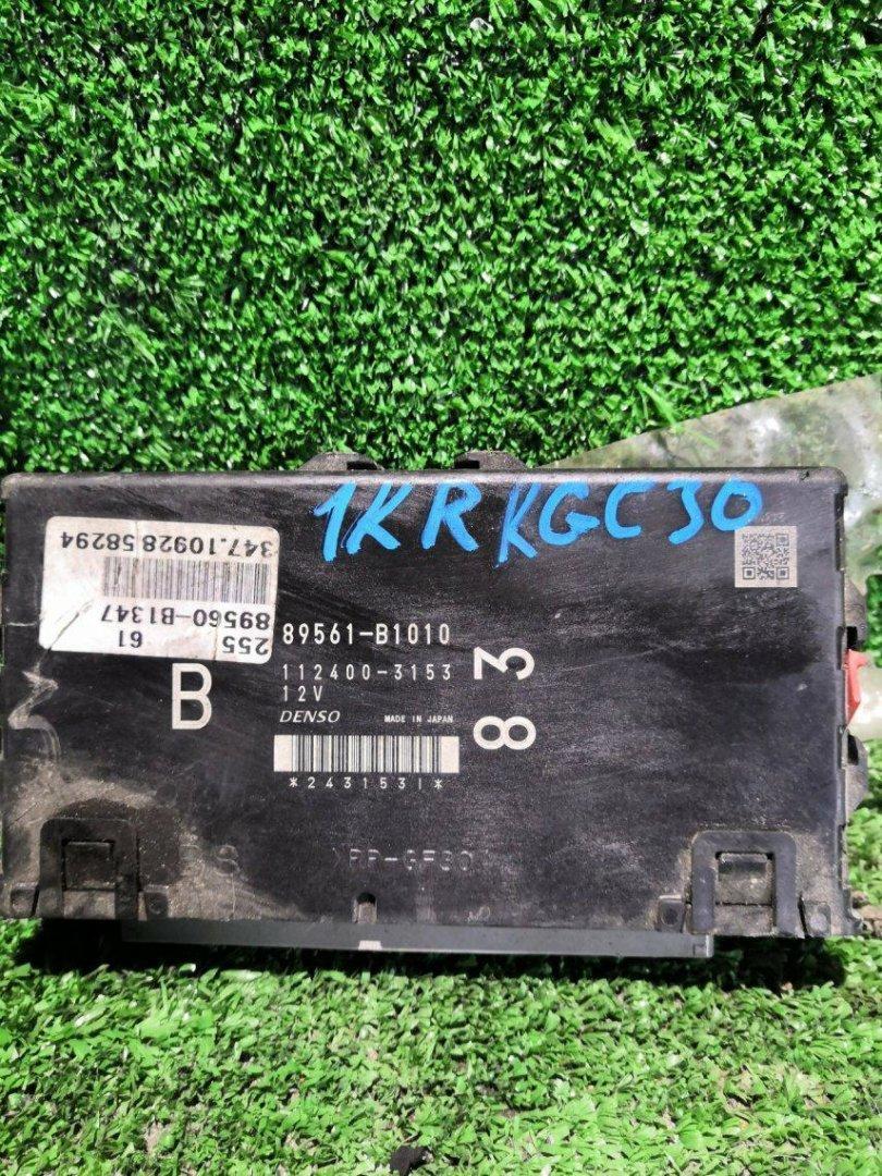 Блок управления efi Toyota Passo KGC30 1KRFE (б/у)