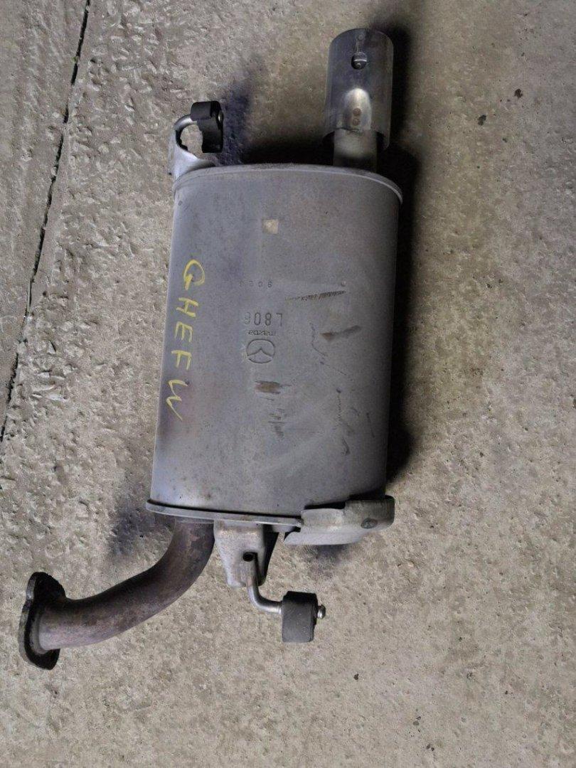 Глушитель Mazda Atenza GHEFW LFVE задний левый (б/у)