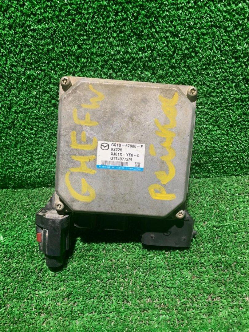 Блок управления рулевой рейкой Mazda Atenza GHEFW LFVE (б/у)