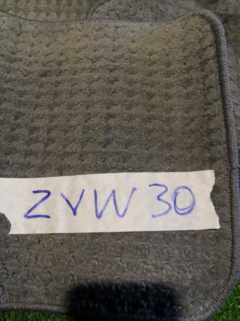 Коврики комплект Toyota Prius ZVW30 2ZR (б/у)
