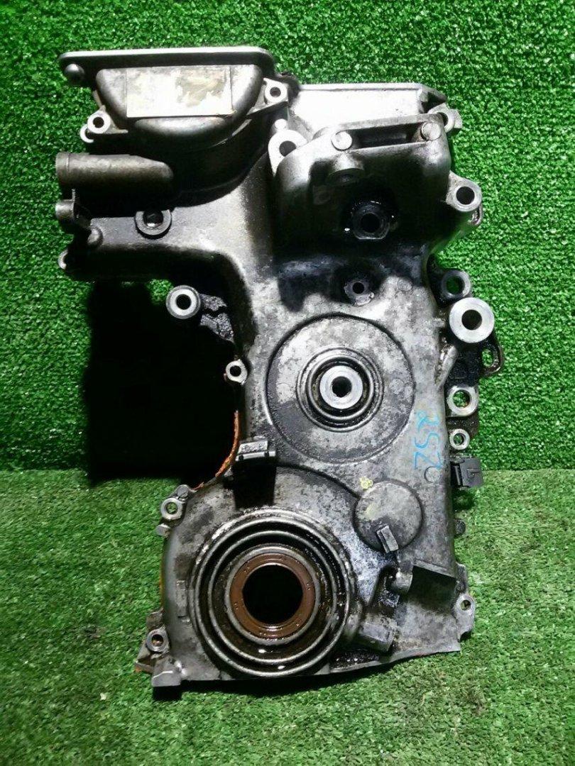 Лобовина двс Toyota Vitz SCP92 2SZFE (б/у)