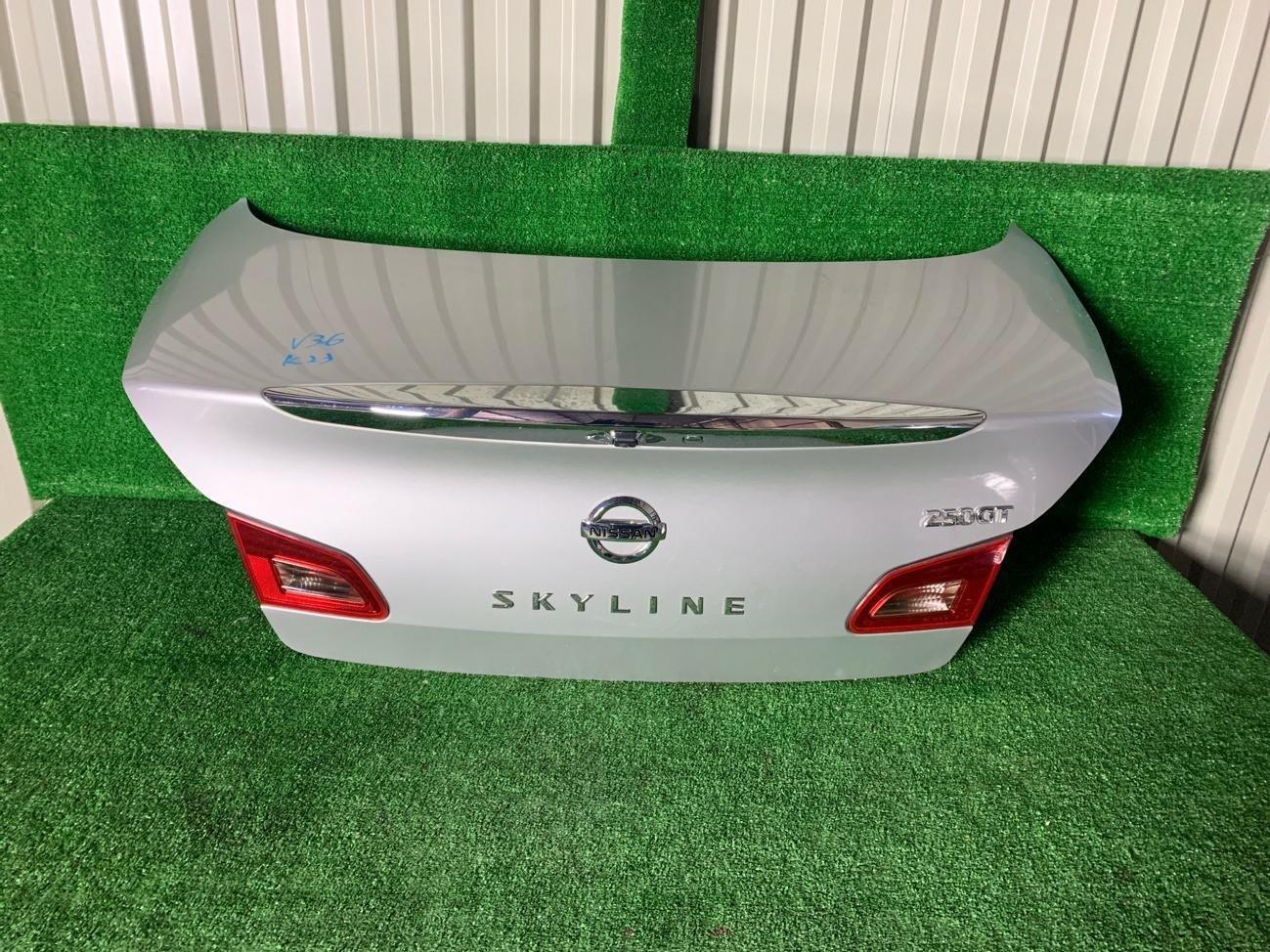 Крышка багажника Nissan Skyline V36 VQ25HR задняя (б/у)