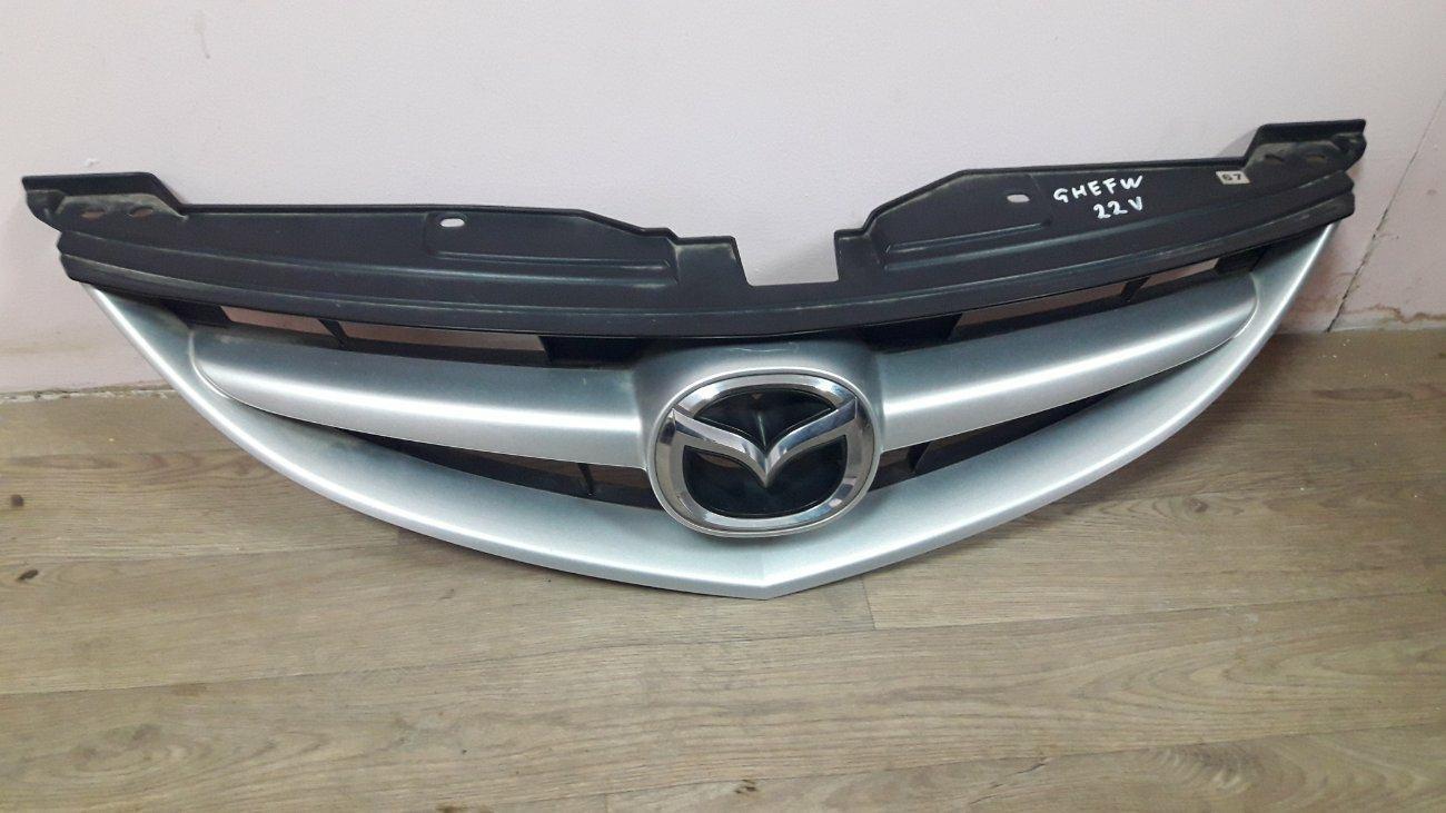 Решетка радиатора Mazda Atenza GHEFW LFVE (б/у)