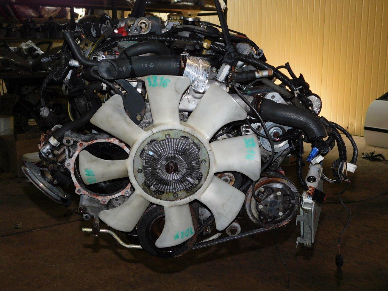 Двигатель Nissan Caravan ARME24 TD27 (б/у)