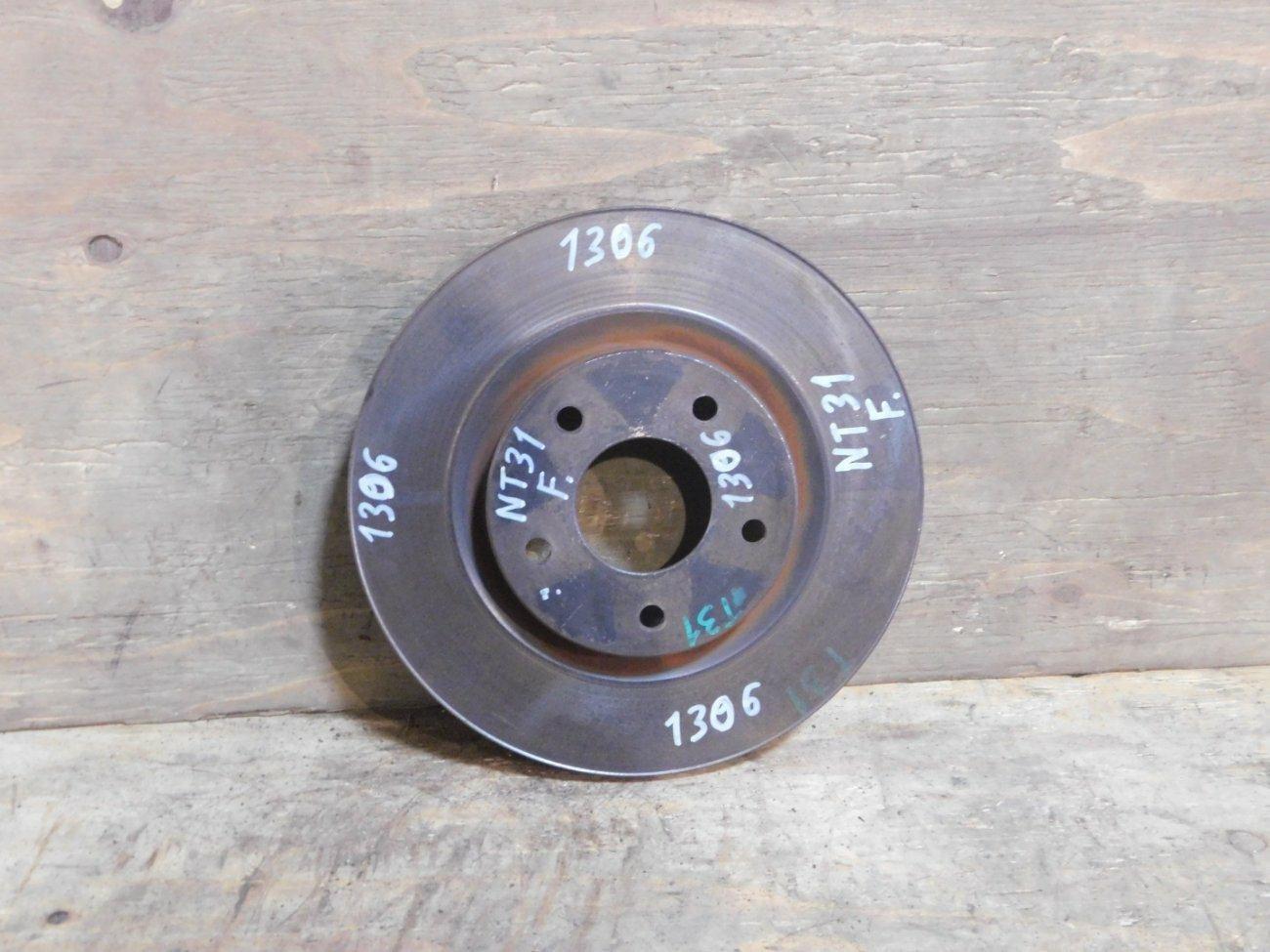 Тормозной диск Nissan X-Trail DNT31 2TR передний (б/у)