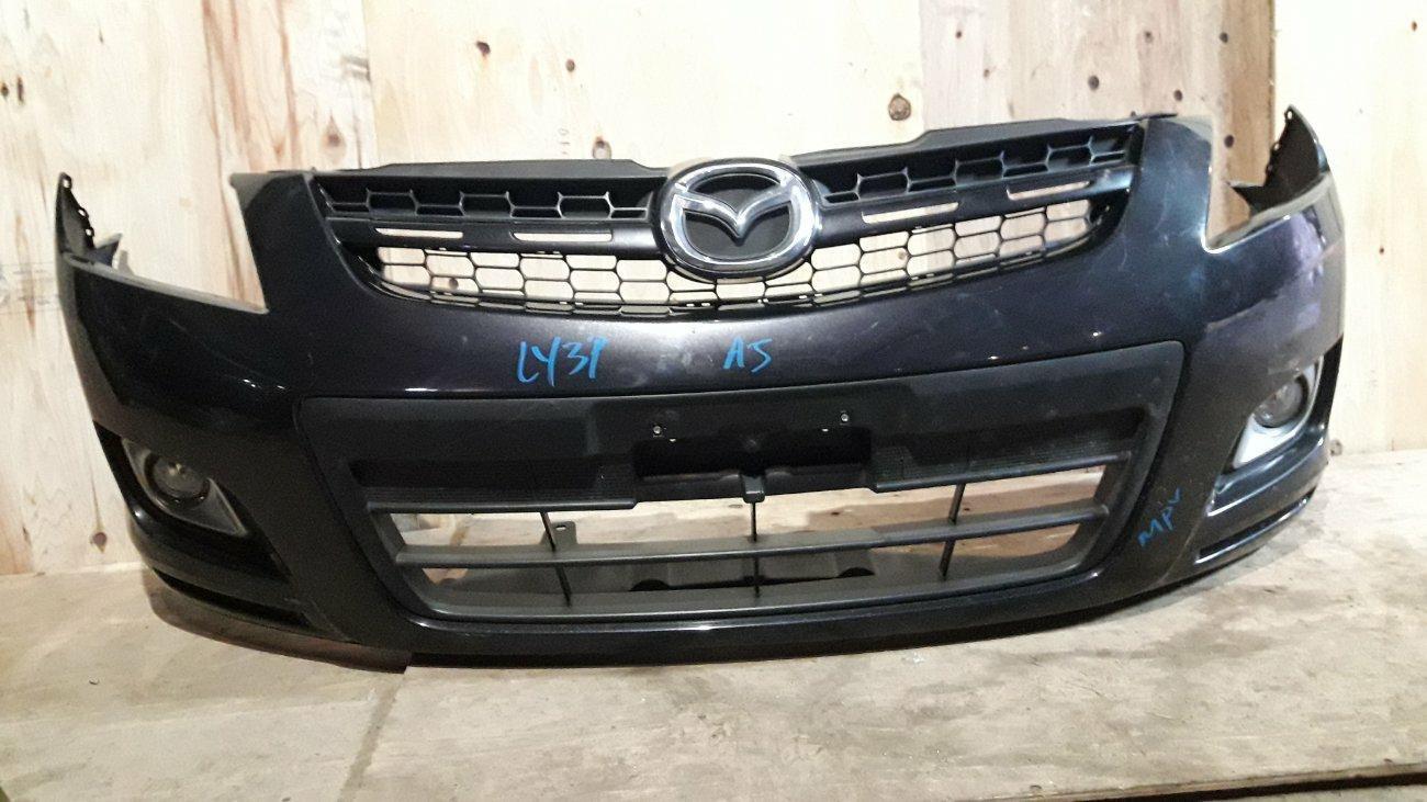 Бампер Mazda Mpv LY3P L3VE передний (б/у)