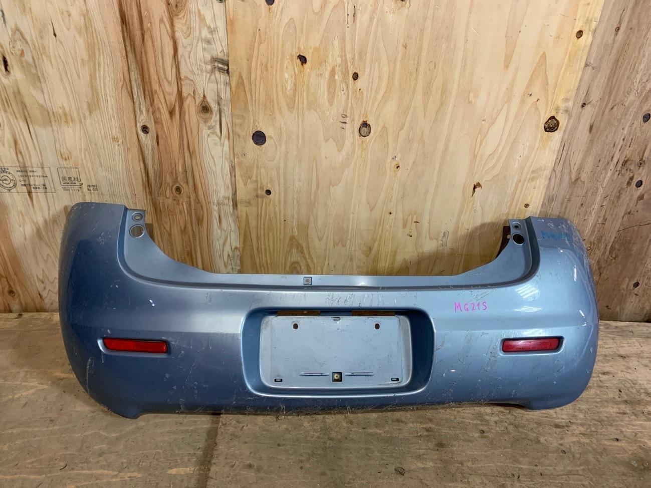 Бампер Nissan Moco MG21S K6A задний (б/у)