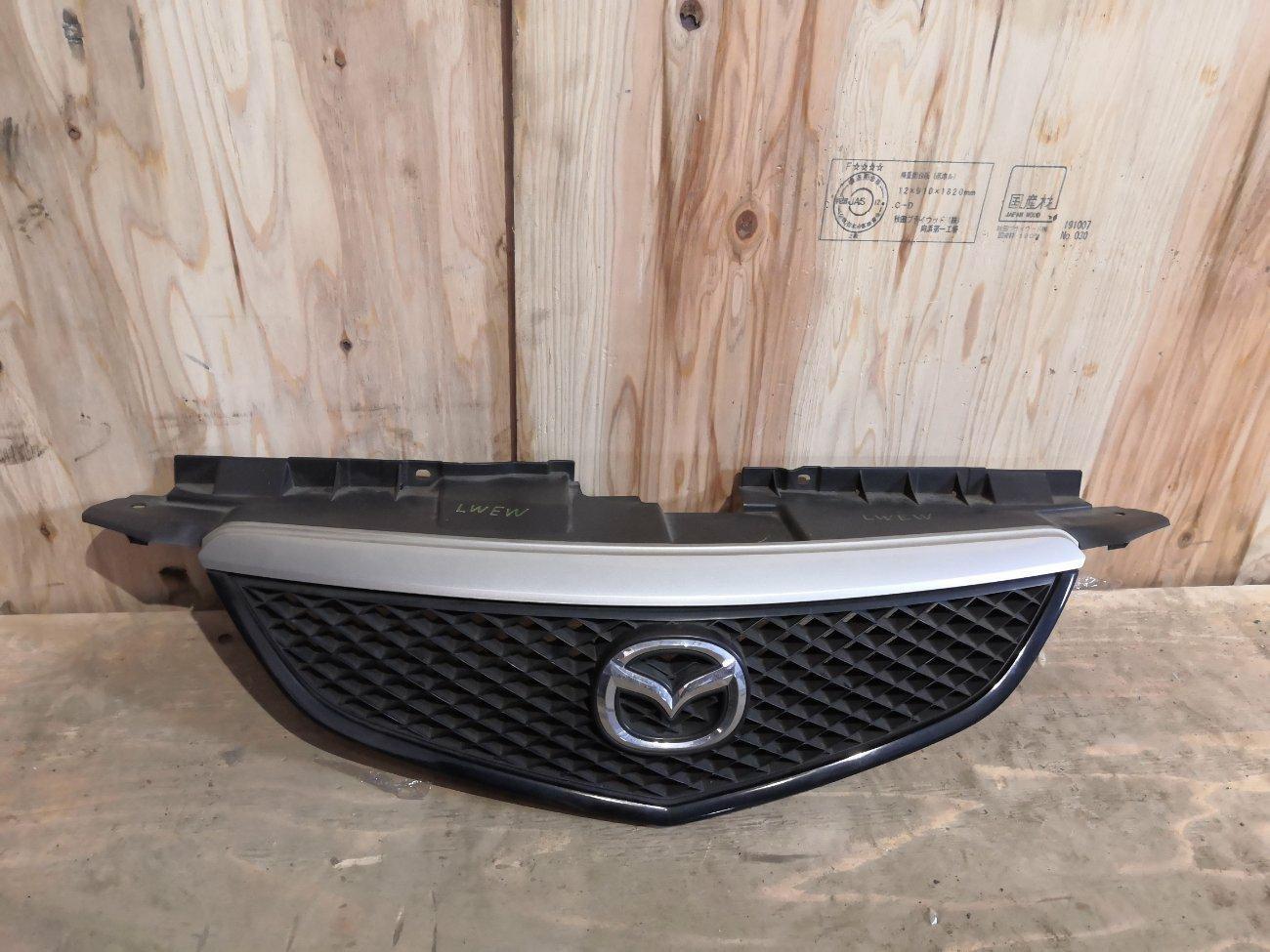 Решетка радиатора Mazda Mpv LWEW FS (б/у)