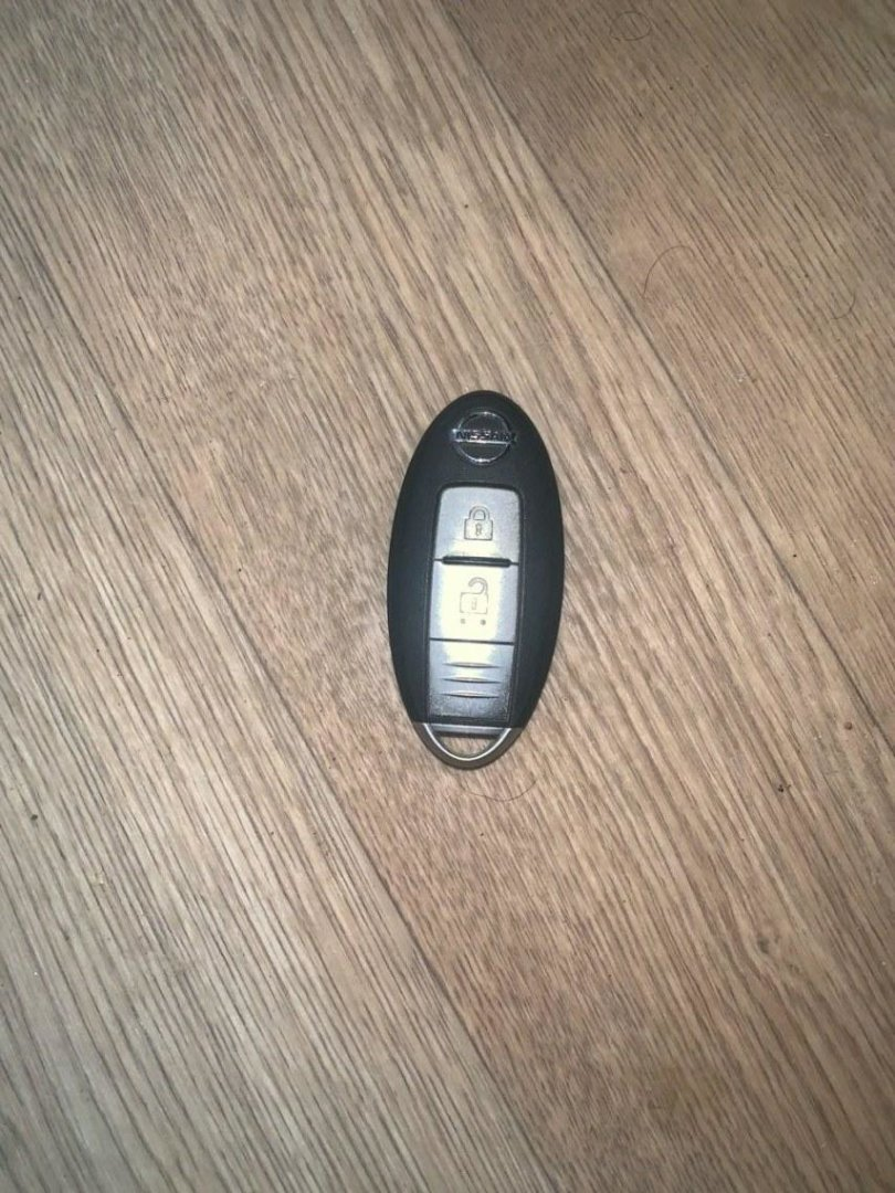 Ключ зажигания Nissan (б/у)