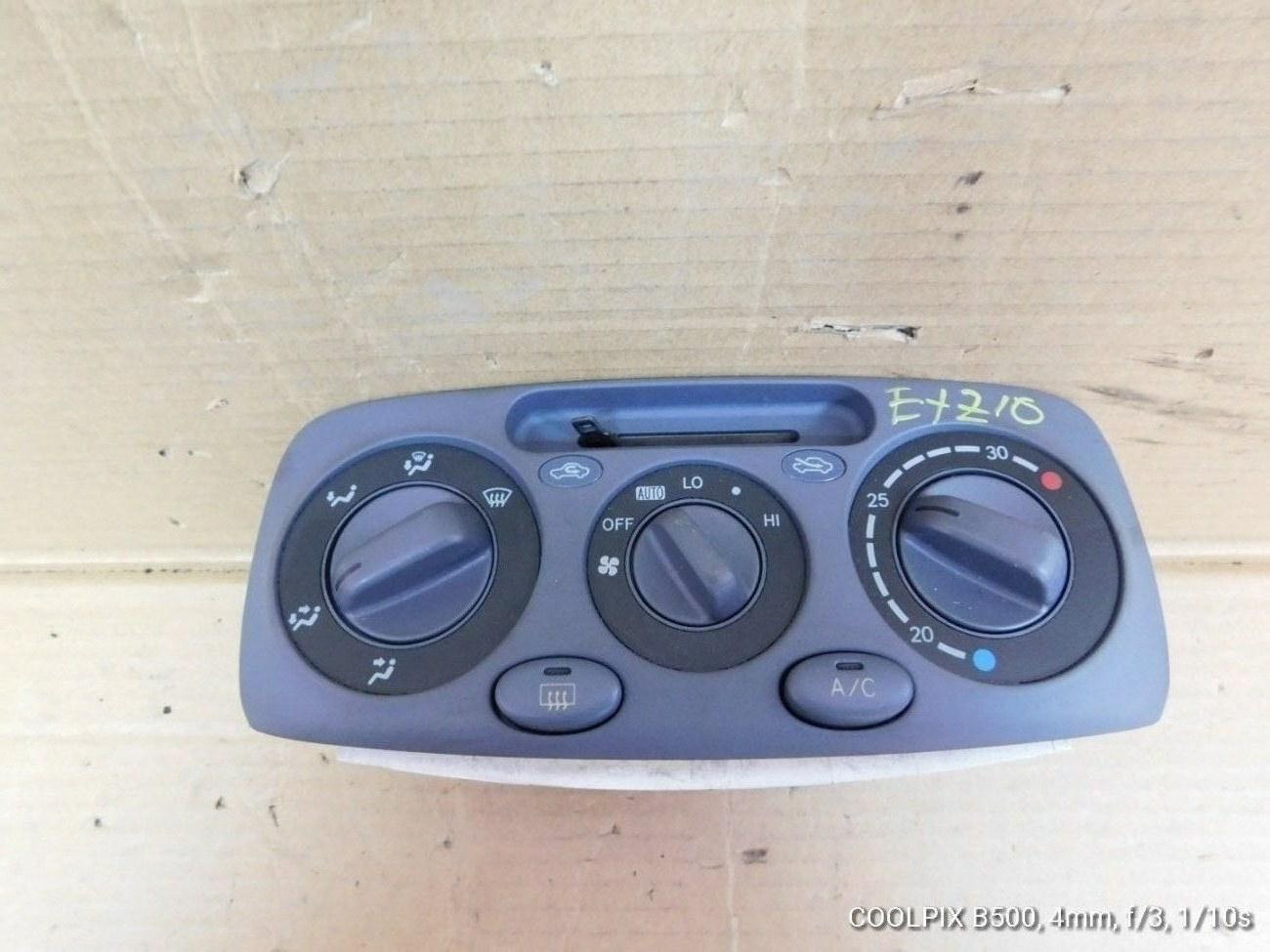 Климат-контроль Toyota Raum EXZ10 5EFE (б/у)