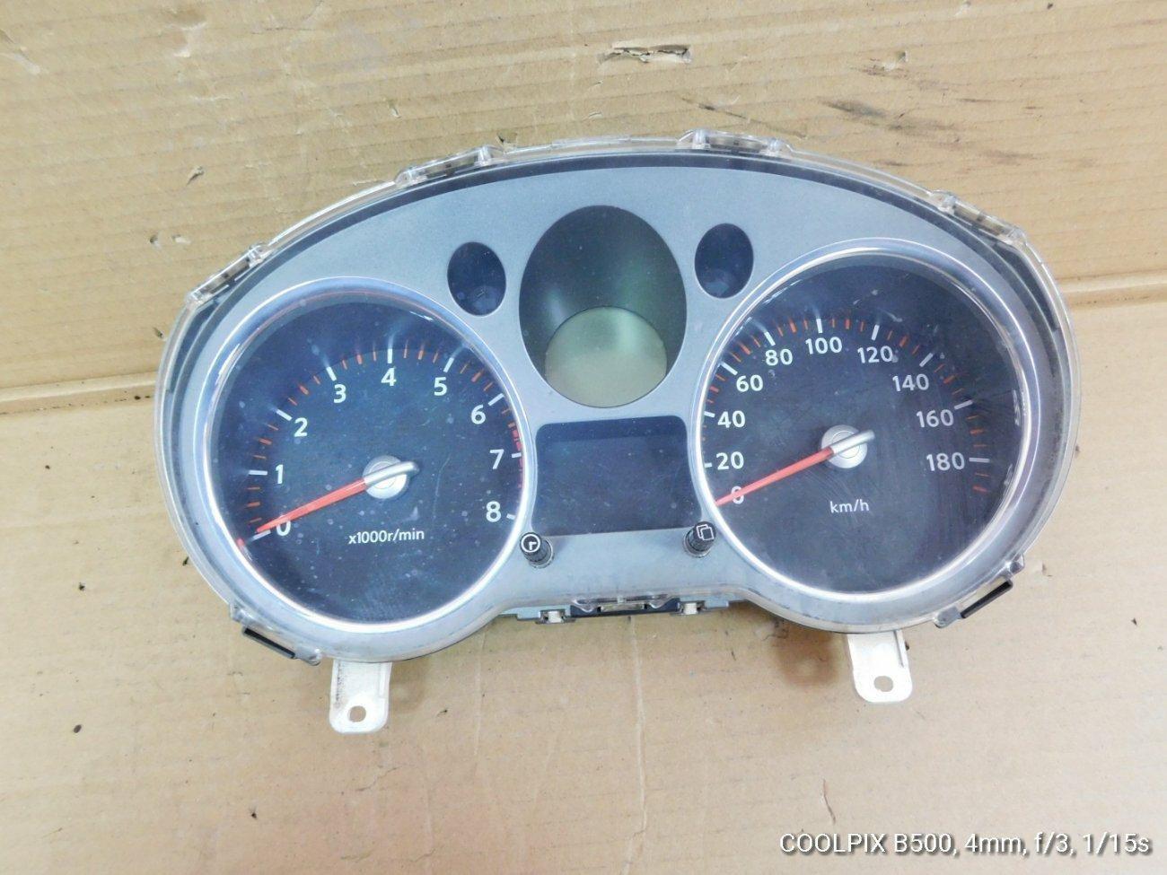 Спидометр Nissan X-Trail NT31 MR20DE (б/у)