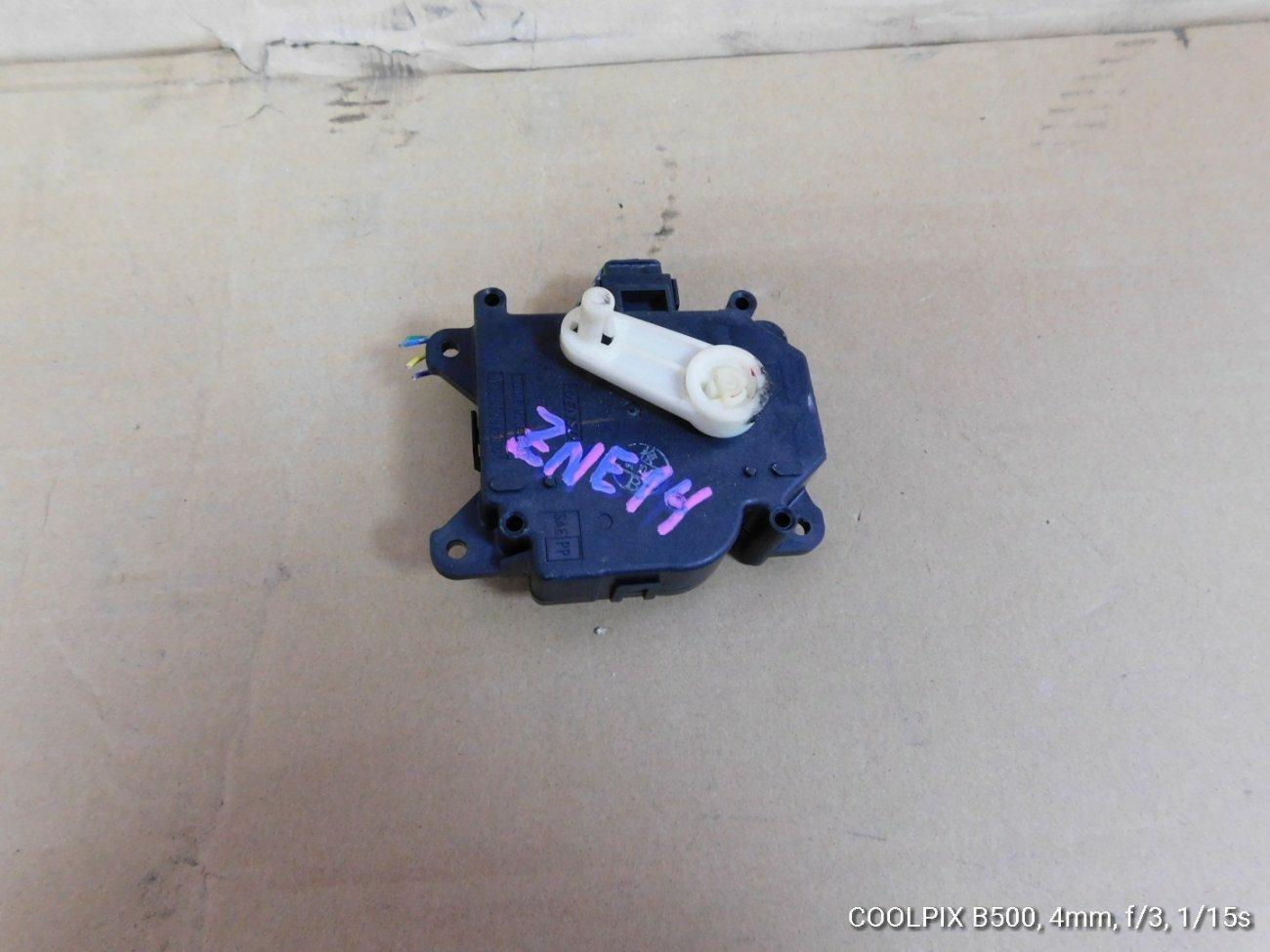 Сервопривод заслонок печки Toyota Wish ZNE14 1ZZFE (б/у)