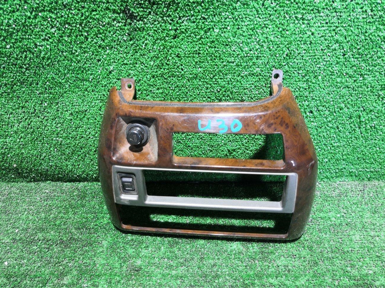 Консоль магнитофона Nissan Presage HU30 KA24 (б/у)
