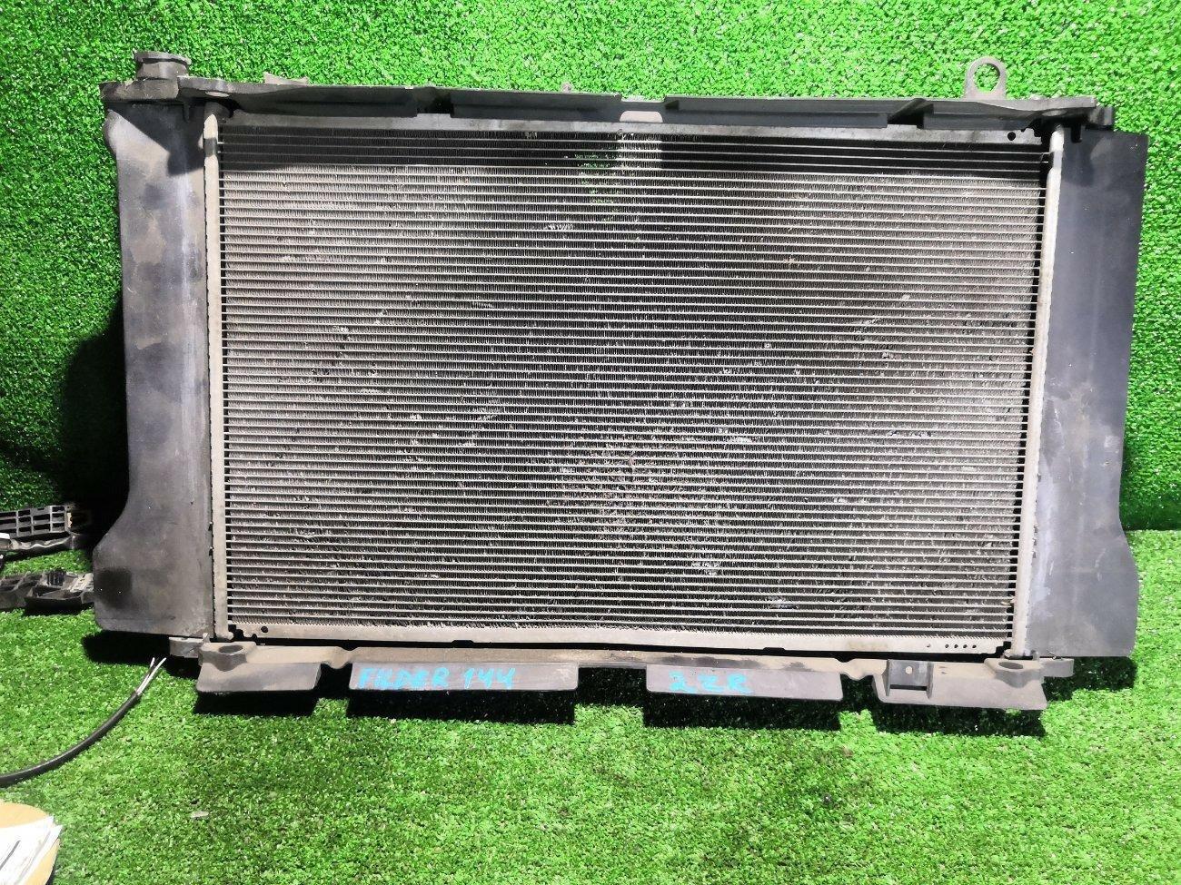 Радиатор основной Toyota Corolla Fielder ZRE144 2ZRFE (б/у)