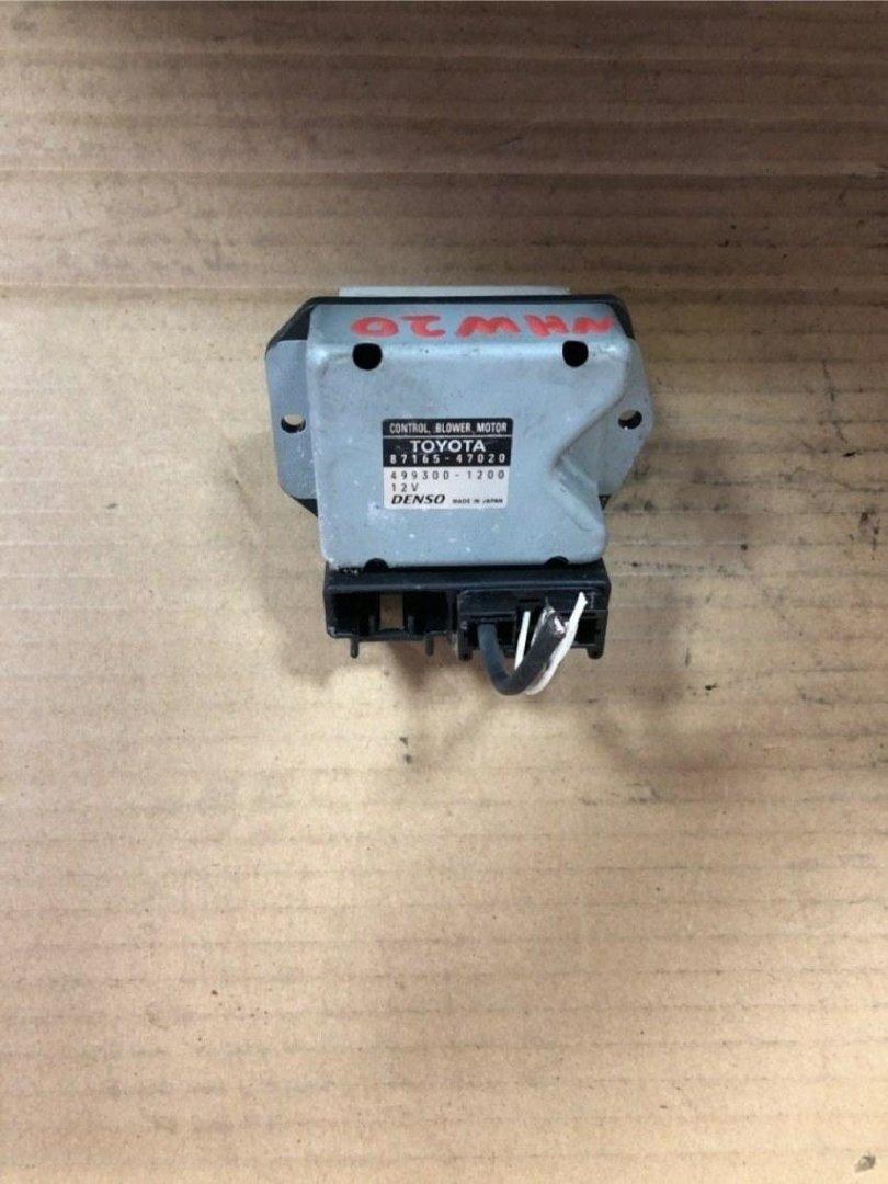 Резистор Toyota Prius NHW20 1NZFXE (б/у)