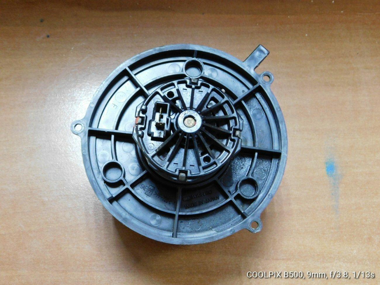 Мотор печки Honda Accord CA1 (б/у)