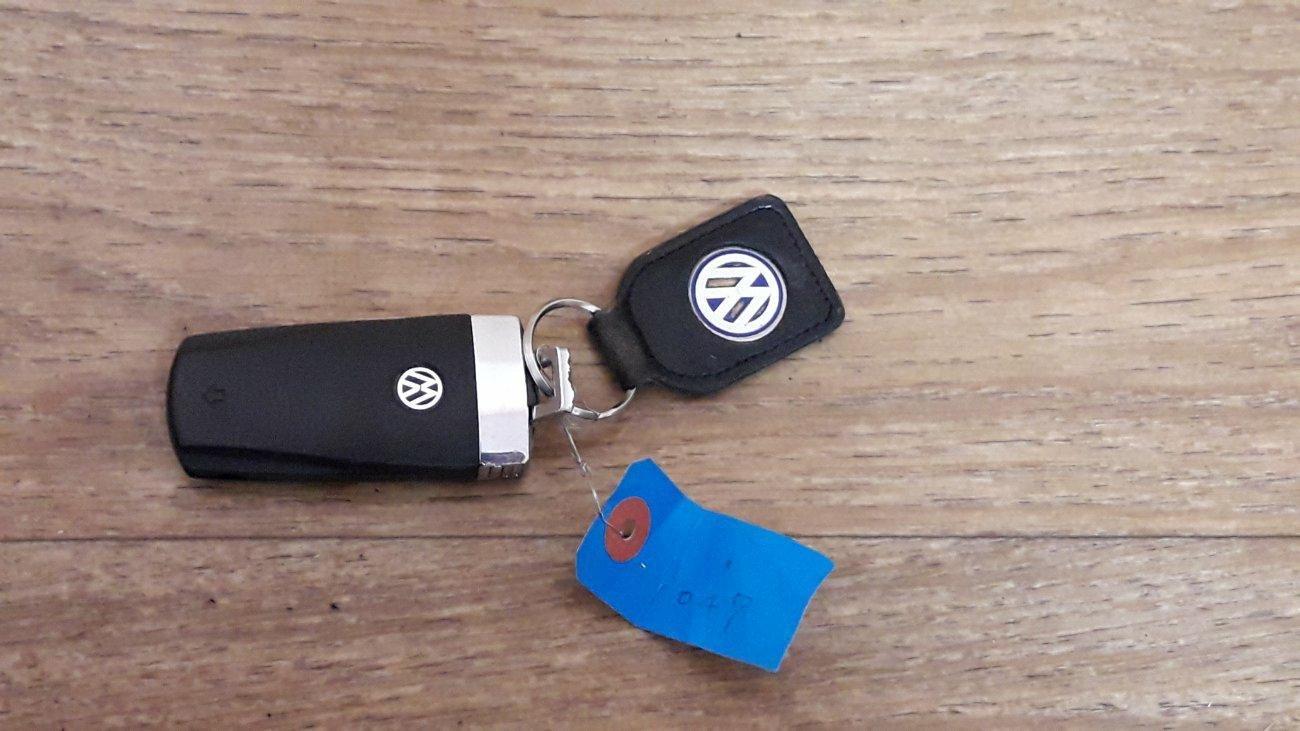 Ключ зажигания Volkswagen Passat Cc 357 AXX (б/у)