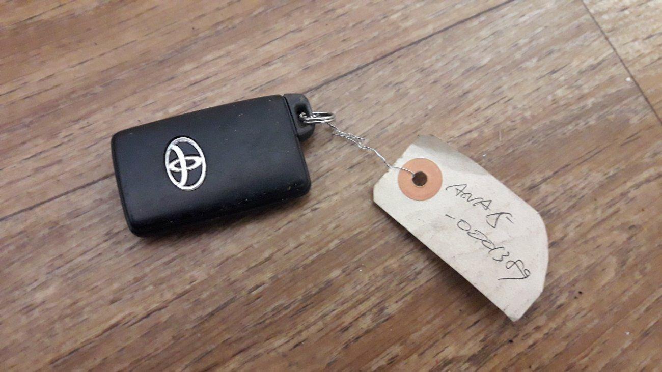 Ключ зажигания Toyota Corolla Axio GRE156 2ZRFE (б/у)