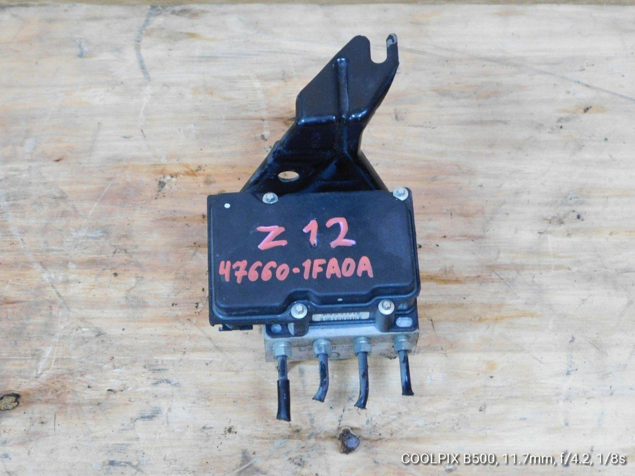 Блок abs Nissan Cube Z12 CR14DE (б/у)