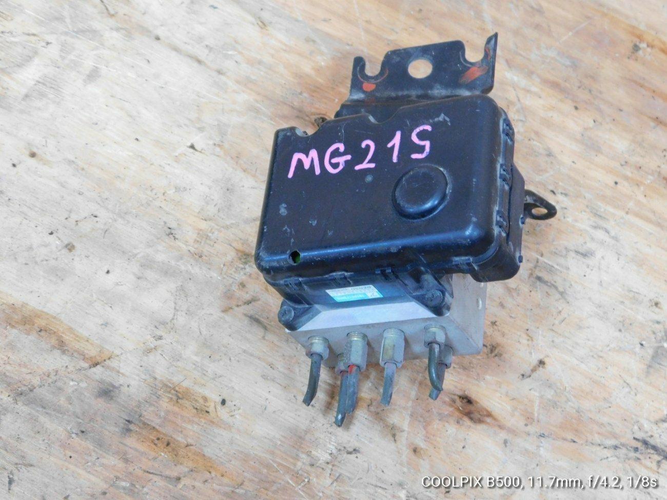 Блок abs Nissan Moco MG21S K6A (б/у)