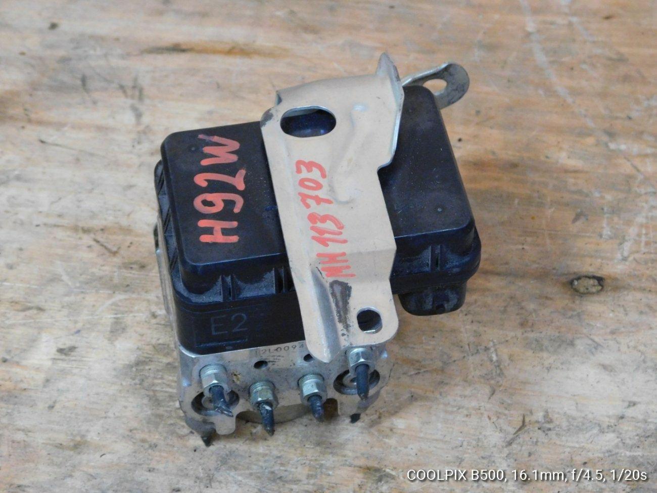 Блок abs Mitsubishi Ek Wagon H81W 3G83 (б/у)