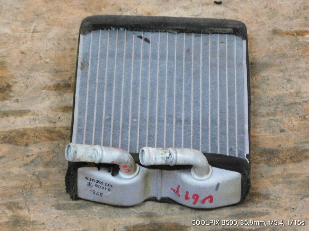 Радиатор печки Mitsubishi Minicab U61T 3G83 (б/у)