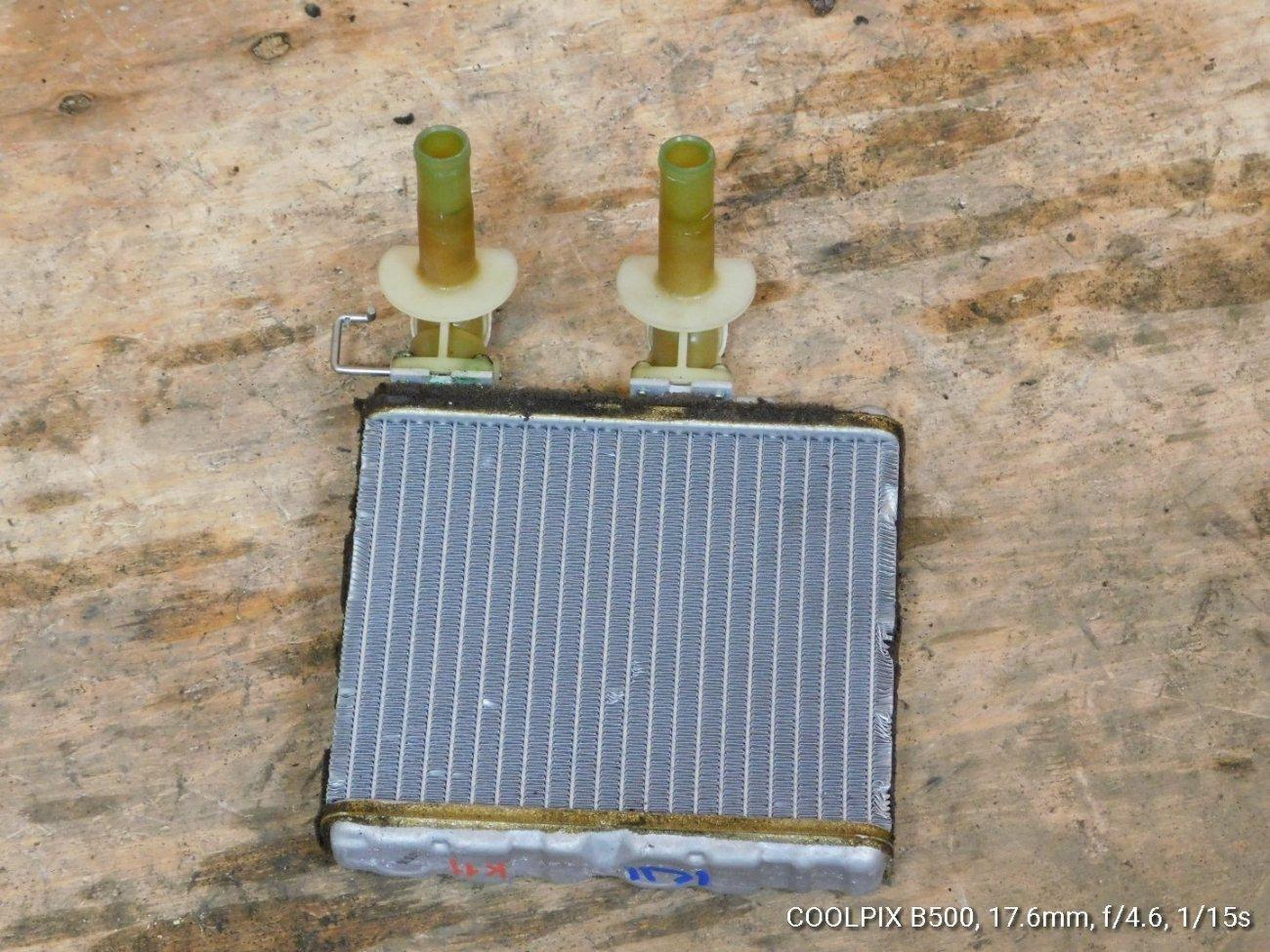 Радиатор печки Nissan March K11 CG10 (б/у)