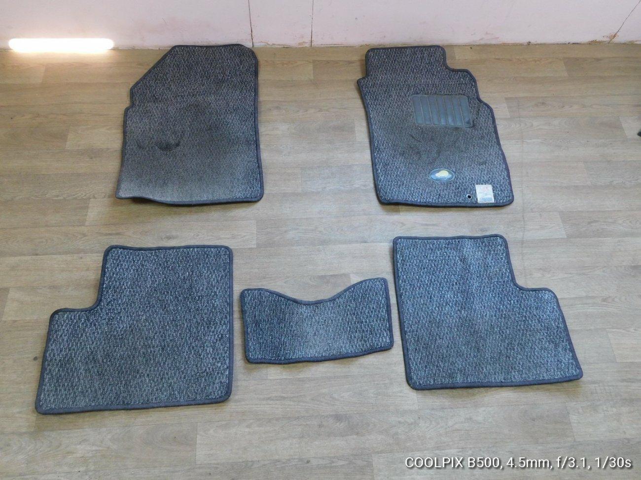 Коврики комплект Nissan March K11 CG10 (б/у)