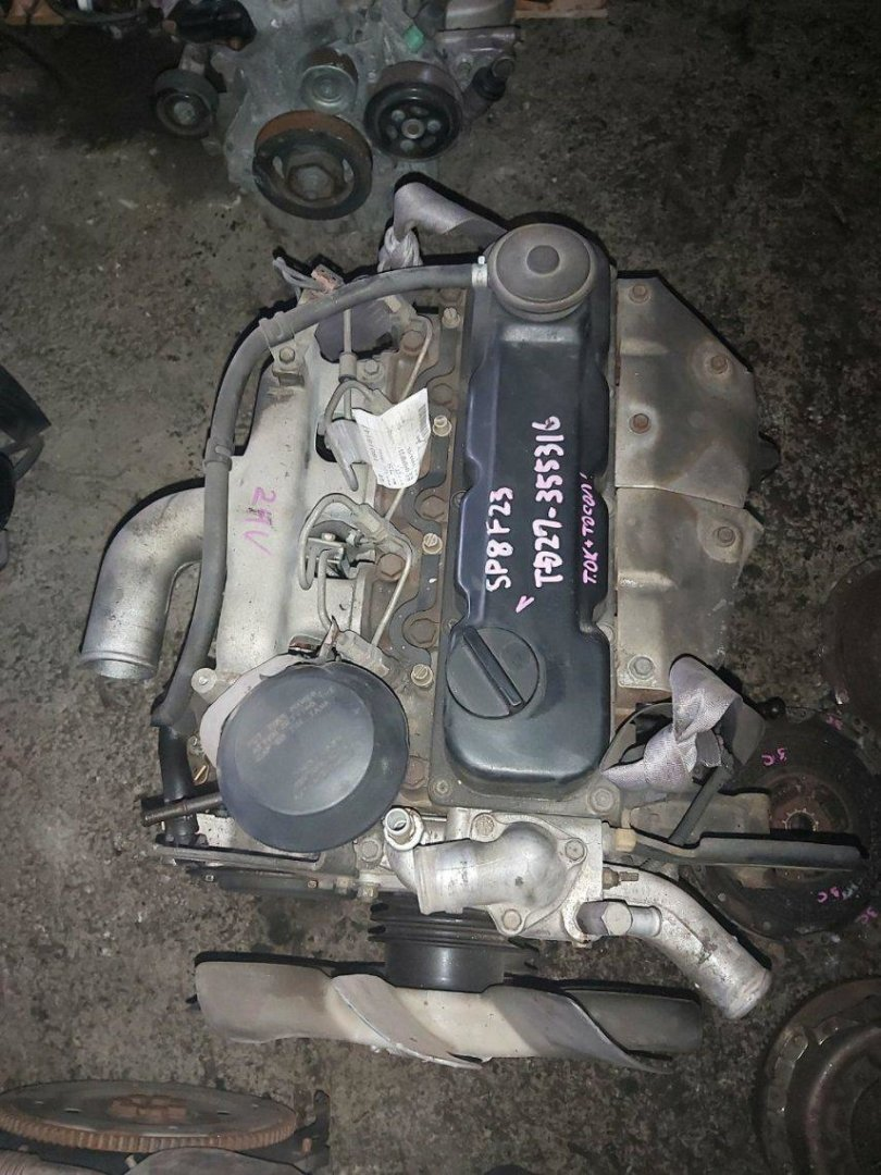 Двигатель Nissan Atlas F23 TD27 (б/у)
